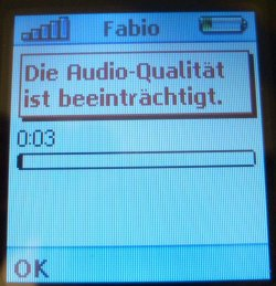 Fritz!Mini Fehler Audioqualität
