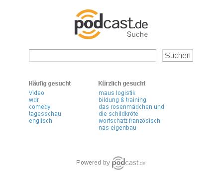 podcast.de Suche