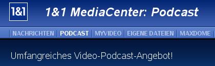 1&1 Mediacenter: Podcast
