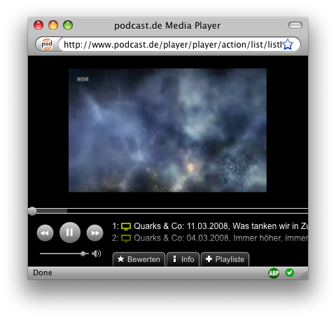 Podcast Media Player Video