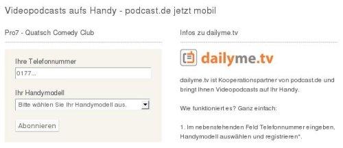podcast.de mobil