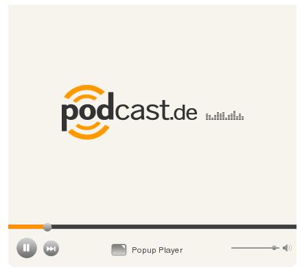 Eingebetteter Podcast-Player