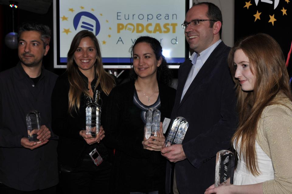 Gesamteuropäische Sieger Preisverleihung EPA