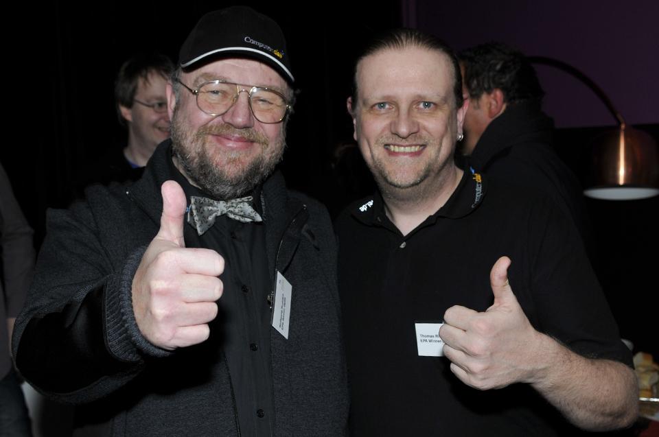 Wolfgang Rudolph und Thomas Ritter