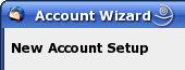 Thunderbird Account Wizard - Neuen Account anlegen