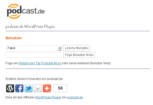 podcast.de WordPress Plugin