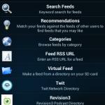 Doggatcher App - Feed hinzufügen
