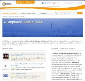 Olympia Special bei podcast.de