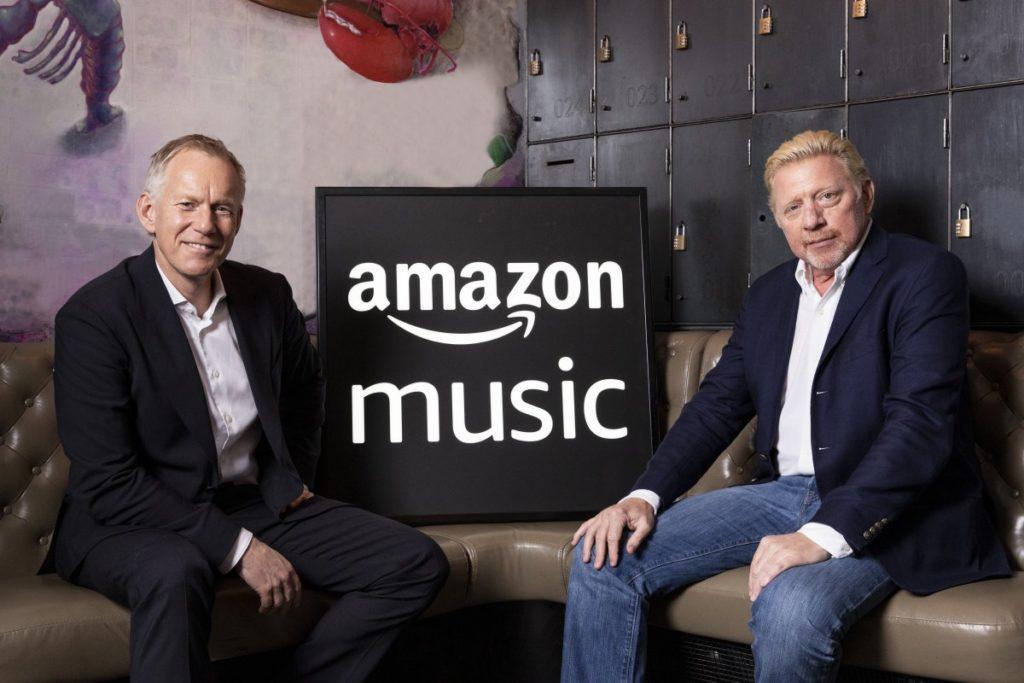 Boris Becker und Johannes B. Kerner starten Podcasts auf Amazon Music.