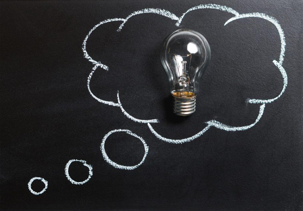 Glühbirne Als Wissenssymbol