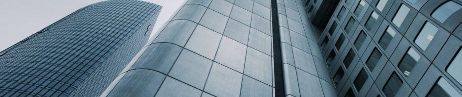 Hochhäuser Bild für Corporate Podcasts auf podcast.de