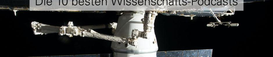 Weltraumstation symbolisiert besten Wissenschaftspodcasts