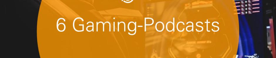 Gaming Podcasts auf podcast.de Header