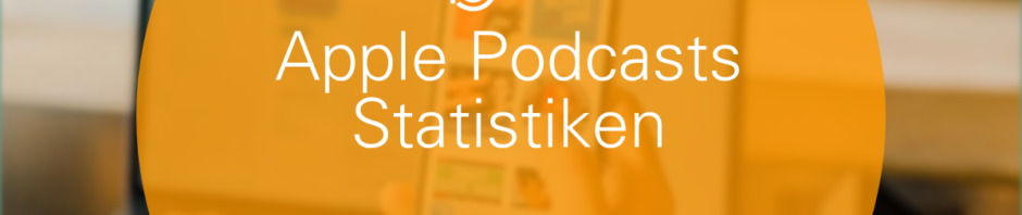 Apple Podcasts Statistiken auf podcast.de