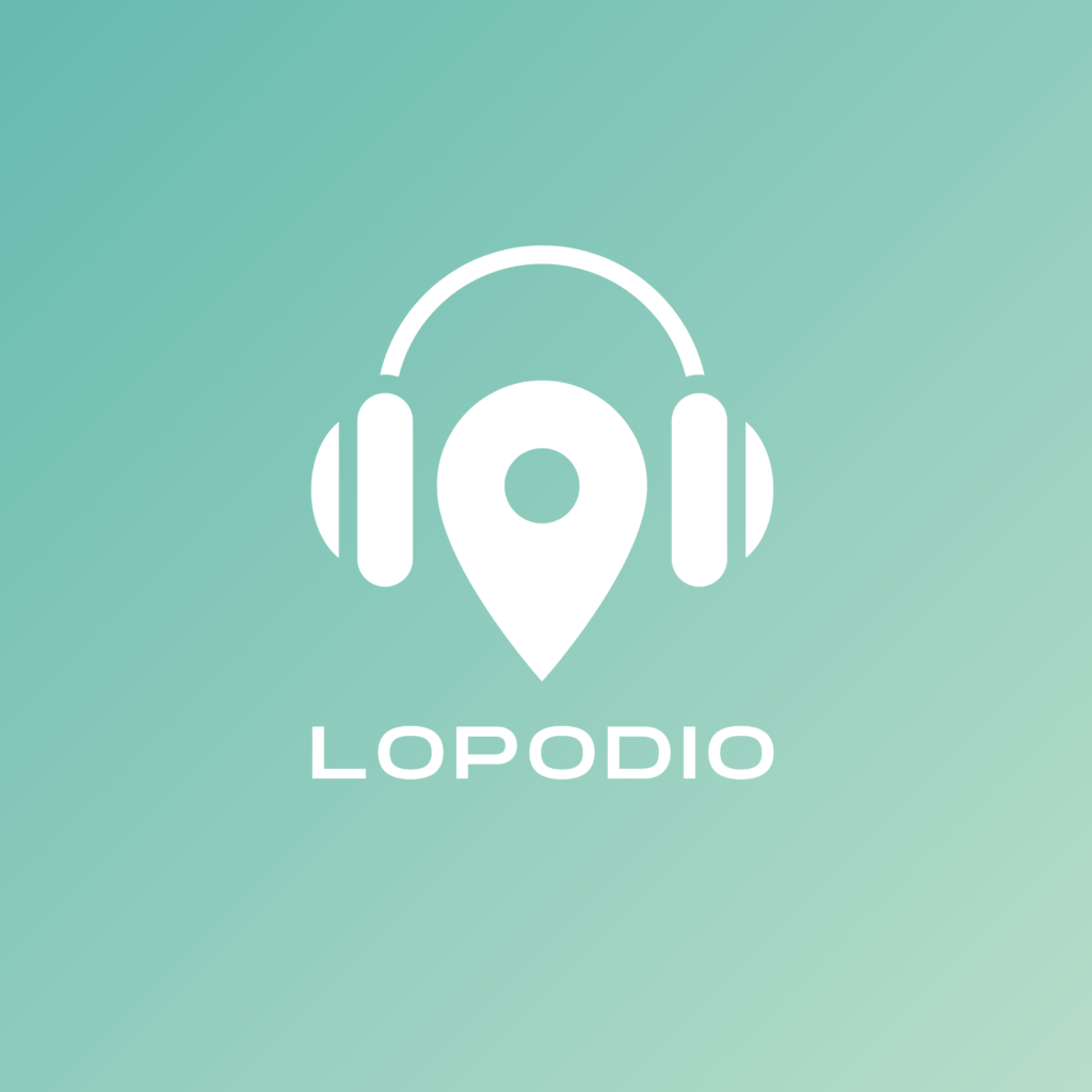 Logo Lokale Podcast-App Lopodio auf podcast.de
