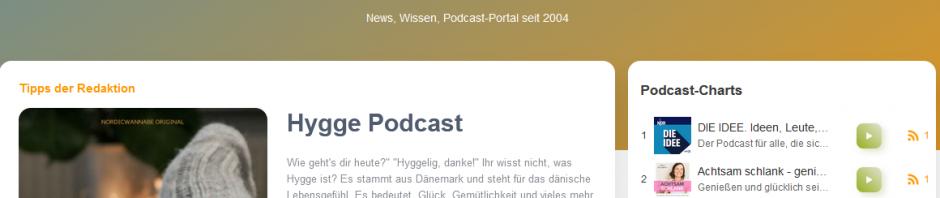 podcast.de Relaunch